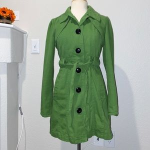 Green Tulle coat
